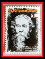 061.SRI LANKA 2011 STAMP RABINDRANATH TAGORE . MNH - Sri Lanka (Ceylon) (1948-...)