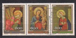 San Marino Saint-Marin  1987 Yvertn° 1171-1173 (°) Oblitéré Cancelled Cote 5,25  € Noël Christmas Kerstmis - Saint-Marin