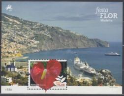 PORTUGAL MADEIRA Block 61 + 62, Postfrisch **, Blumenfest Von Madeira 2015, Nominale 3,80 Euro - Madère