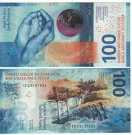 SWITZERLAND  Newest Date100 Francs    Attractive New Design  Pnew   Issued 2020 Dated 2018 - Svizzera