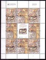 BULGARIA - 2020 - Europa CEPT - Ancient Postal Routes  - M/S MNH - Bulgarie