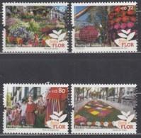 MADEIRA 350-353, Postfrisch **, Blumenfest Von Madeira. 2015, Nominale 2,97 Euro - Madère