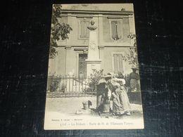 LA BEDOULE, BUSTE DE H.DE VILLENEUVE FLAYOSC ET LA FONTAINE PUBLIC - 13 BOUCHES RU RHONE (CN) - Otros Municipios