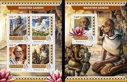 Salomon 2016, Gandhi, 4val In BF +BF - Mahatma Gandhi