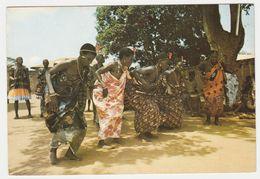 BENIN Danseuses à OUIDAH Librairie Gaston NEGRE Photos René MOSER En 1979 VOIR DOS TIMBRES - Benin