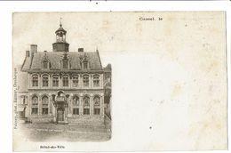 CPA- Carte Postale -France-Cassel- Hôtel De Ville Au Début 1900  VM18447 - Cassel