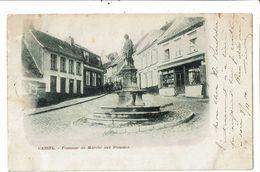 CPA- Carte Postale -France-Cassel- Fontaine Du Marché Aux Pommes  En 1900  VM18448 - Cassel