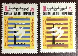 Syria 1972 Industrial Fare Aleppo MNH - Syrien