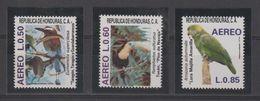 Honduras 1987 Oiseaux PA 713-15 3 Val ** MNH - Honduras