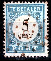 """NEDERLAND  PORT 1881  5 C  """"ALPHEN""""  PUNTSTEMPEL  3 - Used Stamps"""