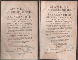 Manuel Du Mineralogiste; Ou Sciagraphie... - Torbern Olof Bergman - Libros, Revistas, Cómics