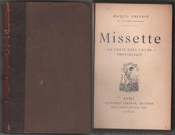Missette. La Paille Dans L'acier. Provinciale - Libros, Revistas, Cómics