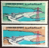 Syria 1973 Euphrates Dam Project MNH - Syrien