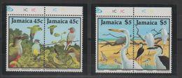 Jamaique 1988 Oiseaux 699-702 4 Val ** MNH - Jamaica (1962-...)
