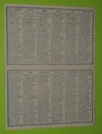 CALENDRIER 1951 - Publicité DRAGÉES Blaise-Bourlier à Chalons Sur Marne 51 - Environ 6x9 Fermé - Bon état D'usage - Calendriers