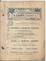 PAPIERS PHOTOGRAPHIQUES LAMY . COURBEVOIE . BROMURE ARGENT . CARTES POSTALES ...TECHNIQUES . 30 PAGES - Fotografie