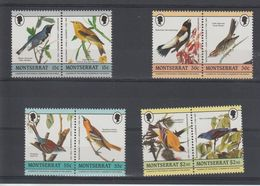 Montserrat 1985 Oiseaux 588-95 8 Val ** MNH - Montserrat