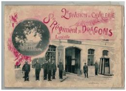 54 LUNEVILLE LIVRE PORTANT SUR LA 2EME DIVISION DE CAVALERIE 8EME REGIMENT DE DRAGONS - Luneville