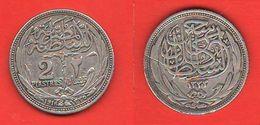 Egitto 2 Piastre 1916  AH 1335 Egypt - Egypte