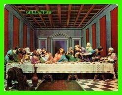 FLEURS - CARTE 3 DIMENSIONS - THE LAST SUPPER  - 3-D COLLECTOR SERIES - DIMENSION 12 X 16.5 Cm - - Jesus