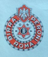 BIRRA - AFFRANCATURA ROSSA  - BIRRA PERONI - ROMA  - CON MARCHIO BIRRA PERONI ROMA - 6. 1946-.. Republic