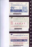 Marianne De DECARIS - 6 Couvertures De Carnets De 20 - TTB - - 1960 Maríanne De Decaris