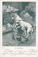 Dackel Teckel Dachshund Fox Terrier Chien Fannie Moody  Old Dog Cpa. 1901 - Hunde