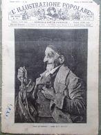 L'illustrazione Popolare 15 Dicembre 1889 Villa Verdi Manicomio Ricordi Parigi - Avant 1900