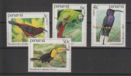 Panama 1981 Oiseaux 899-902 4 Val ** MNH - Panama