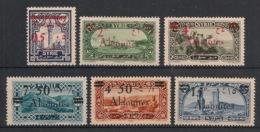 Alaouites - 1926-28 - N°Yv. 41 à 46 - Série Complète - Neuf Luxe ** / MNH / Postfrisch - Alevieten (1923-1930)