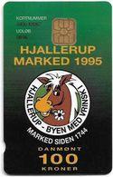 Denmark - Danmønt - Hjallerup Market 1995 - DD048 - 100Kr. Exp. 08.1996, 1.472ex, Used - Dinamarca
