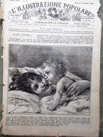 L'illustrazione Popolare 22 Dicembre 1889 Arte Antica Canti Natalizi Capolavori - Avant 1900