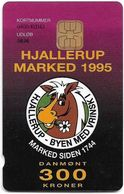 Denmark - Danmønt - Hjallerup Market 1995 - DD050 - 300Kr. Exp. 08.1996, 1.250ex, Used - Dinamarca