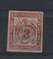 LOT 514 - AFRIQUE DU SUD TRANVAAL  (1875)   N° 22 - Percé En Ligne  - Cote 165.00 € - Africa (Other)