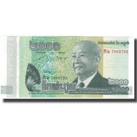 Billet, Cambodge, 2000 Riels, 2013, NEUF - Cambodge