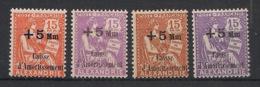 Alexandrie - 1927-30 - N°Yv. 81 à 84 - Caisse D'amortissement - Complet -Neuf Luxe ** / MNH / Postfrisch - Ongebruikt