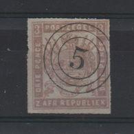 LOT 514 - AFRIQUE DU SUD TRANVAAL  (1875)   N° 23 - Percé En Ligne  - Cote 150.00 € - Africa (Other)