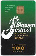Denmark - Danmønt - Skagen Festival 1995 #1 - DD056 - 100Kr. Exp. 08.1996, 1.500ex, Used - Dinamarca