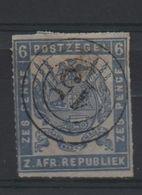 LOT 514 - AFRIQUE DU SUD TRANVAAL  (1875)   N° 24 - Percé En Ligne  - Cote 125.00 € - Africa (Other)