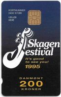 Denmark - Danmønt - Skagen Festival 1995 #2 - DD057 - 200Kr. Exp. 08.1996,2.240ex, Used - Dinamarca