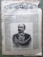 L'illustrazione Popolare 29 Dicembre 1889 Orero Capitano Casati Henry Stanley - Avant 1900