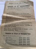 Les Paroisses Du VIIe Arrondissement En Pèlerinage à Notre-Dame De Paris - Religion & Esotérisme