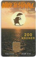 Denmark - Danmønt - Nibe Festival 1997 - DD138 - 200Kr. Exp. 07.1998, 1.200ex, Used - Dinamarca