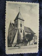 C.P.A.- Montesson (78) - L'Eglise - 1933 - SUP - (DH 76) - Montesson