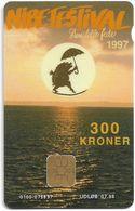 Denmark - Danmønt - Nibe Festival 1997 - DD139 - 300Kr. Exp. 07.1998, 1.146ex, Used - Dinamarca