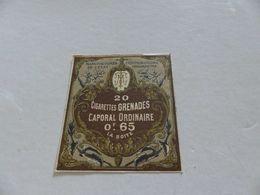 B-57, Etiquette Cigarettes, Tabacs  , 20 Cigarettes Amazones Caporal Ordinaire , 0F65 La Boite - Autres