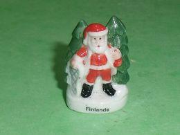 Fèves / Pays / Région : Finlande , Père Noël  TB122P - Pays
