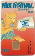 Denmark - Danmønt - Nibe Festival 1998 - DD182 - 200Kr. Exp. 08.1999, 1.200ex, Used - Dinamarca