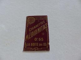 B-59, Etiquette Cigarettes, Tabacs  , Cigarettes Médianitas , 0F55 La Boite De 10 - Autres