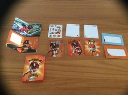 """Cartes, Stikers, Etc """"miraculous - RENA ROUGE"""" Distribution McDonald's (11 Pièces) - Autres Collections"""
